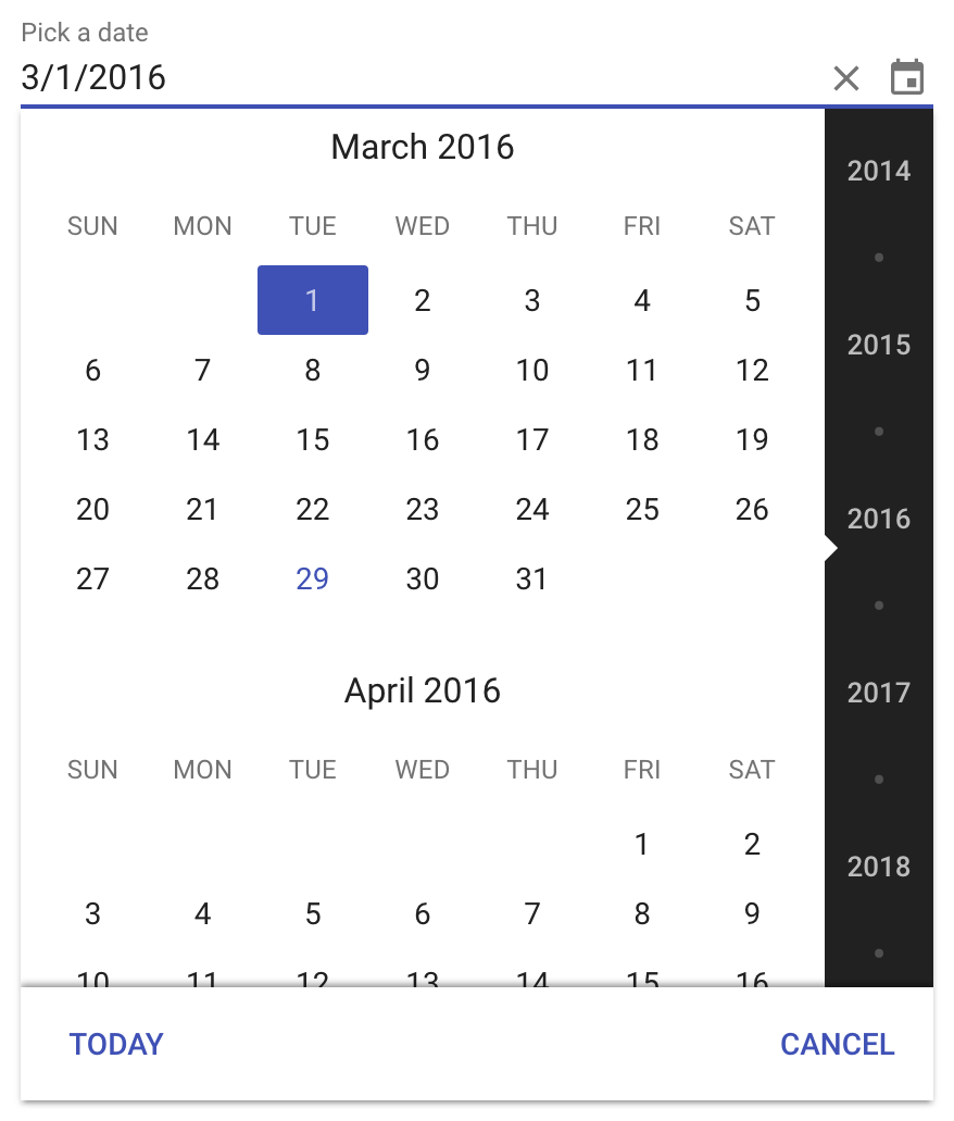 how to add datepicker in html page