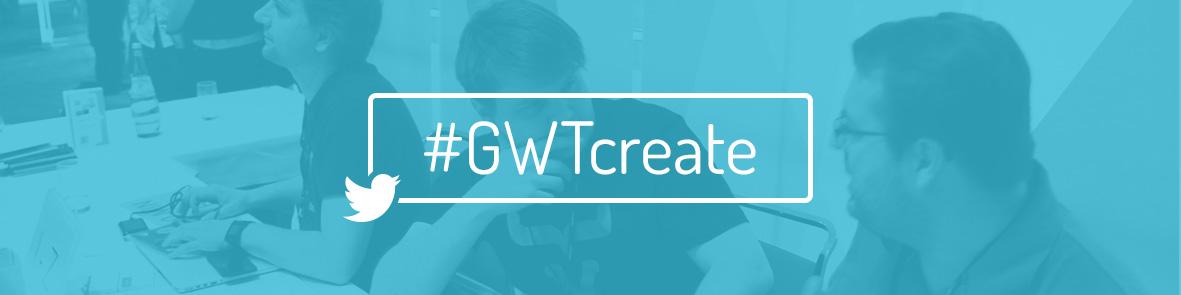 Hashtag GWTcreate