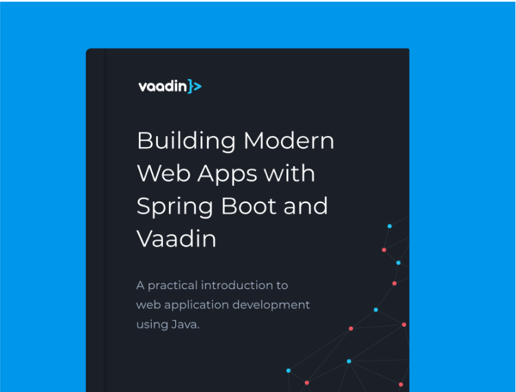 Building modern web apps with Spring