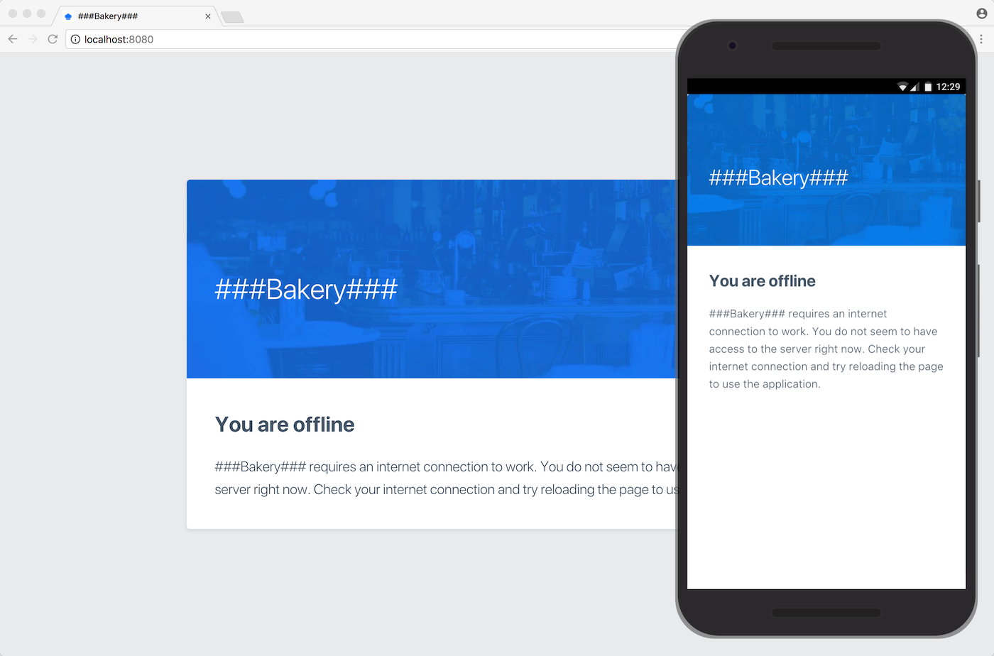 Theming, styling, look and feel | Vaadin Bakery App Starter | Vaadin