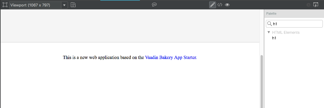 Adding a view   Vaadin Bakery App Starter   Vaadin 13 Docs