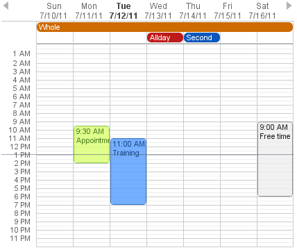 Calendar Vaadin Framework 7 Vaadin 7 Docs