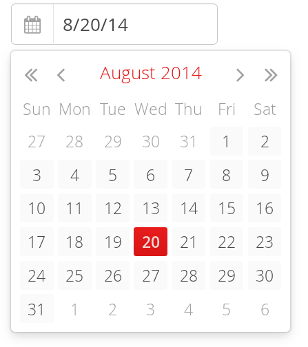 Date and Time Input with DateField | Vaadin Framework 7