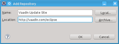 Installing the Eclipse IDE and Plugin | Vaadin Framework 7
