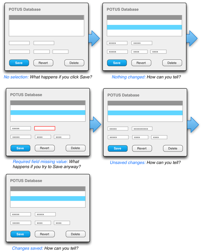 Enable and disable buttons to indicate state | Vaadin