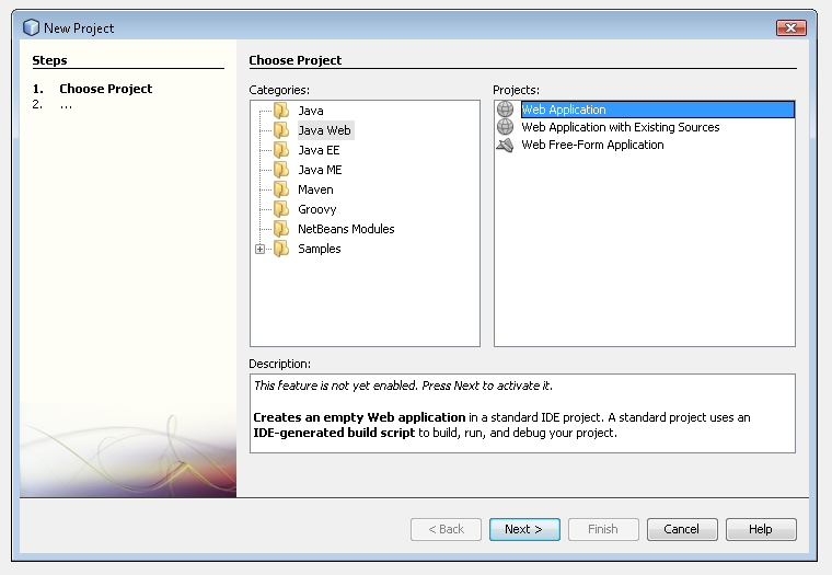 Getting started on NetBeans | Vaadin Framework 8 | Vaadin 8 Docs